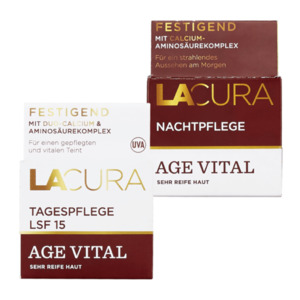 LACURA  	   Age Vital Tages- / Nachtpflege