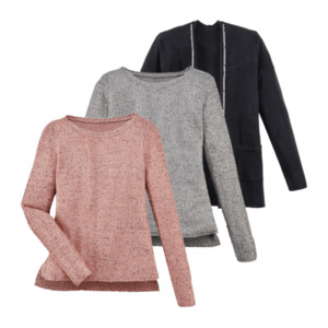 UP2FASHION  	   Pailletten-Pullover / -Cardigan