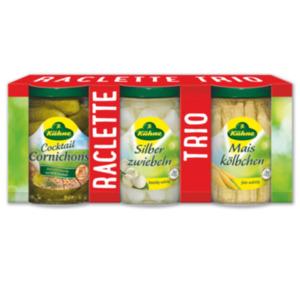 KÜHNE Raclette Trio