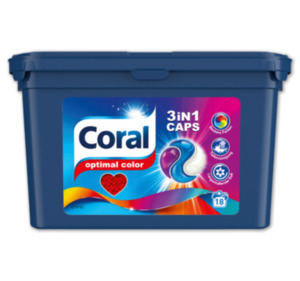 CORAL Optimal Color 3in1 Caps