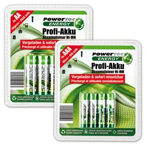 Powertec Energy Profi Akku Mignon / Micro