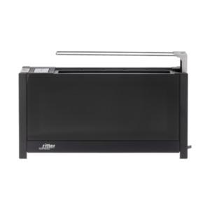Toaster ritter Volcano, 850 - 1000 W, schwarz