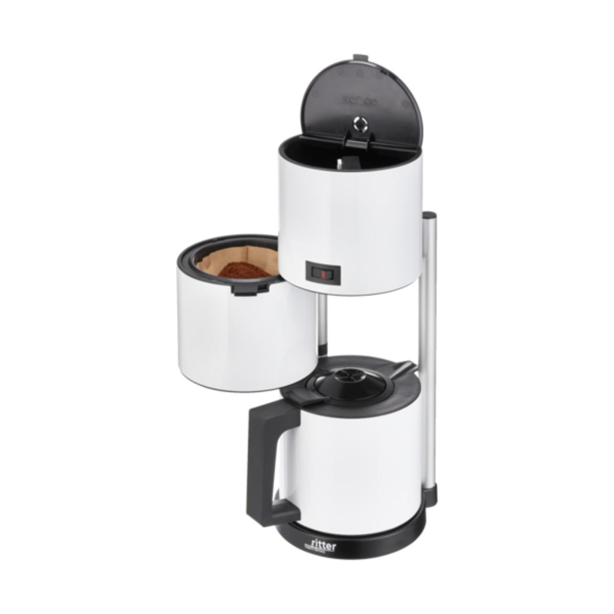 Bild 3 von Kaffeemaschine ritter Cafena 5, weiß
