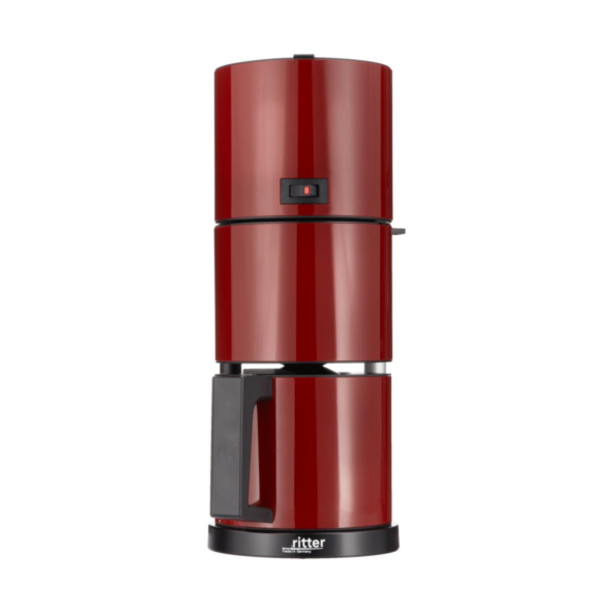 Bild 1 von Kaffeemaschine ritter Cafena 5, rot