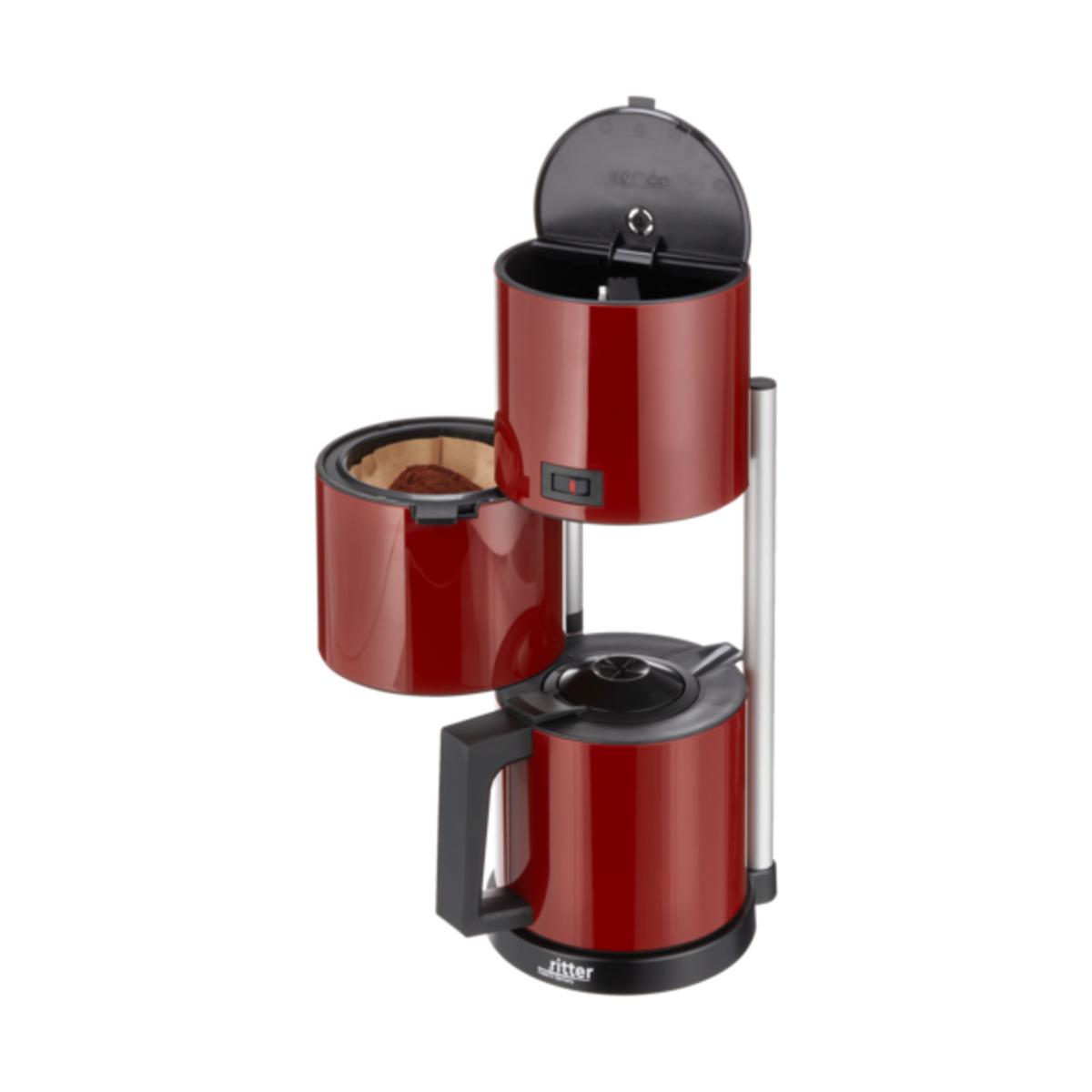 Bild 3 von Kaffeemaschine ritter Cafena 5, rot