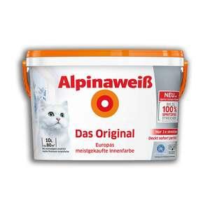 Alpinaweiß Das Original - Innenfarbe - matt - 10 Liter