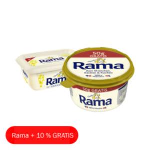 Rama pflanzlich basierter Brotaufstrich