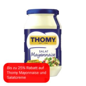 Thomy Mayonnaise oder Salatcreme