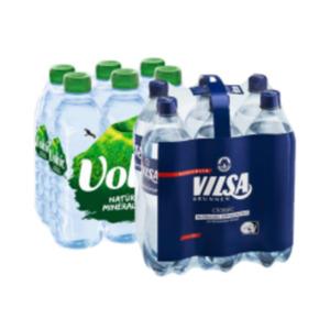 Vilsa Mineralwasser 6 x 1l PET oder Volvic 6 x 0,5 l PET Flaschen