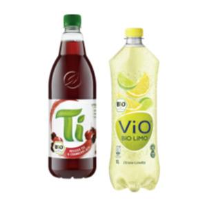 Vio Bio Limonade oder Ti Tee