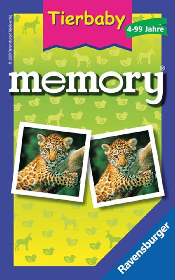 Ravensburger 230136 Tierbaby memory® Mitbringspiel
