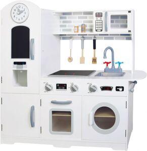 Besttoy - Holz-Spielküche - weiß - ca. 60 x 78 x 30 cm