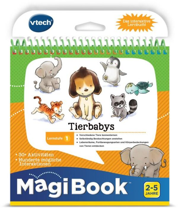 V-Tech - MagiBook - Tierbabys - Lernstufe 1