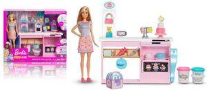 Barbie - Tortenbäckerei - Spielset mit Zubehör
