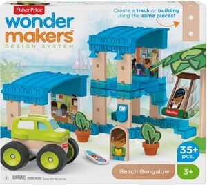 Fisher Price - Wunder Werker - Strandbungalow