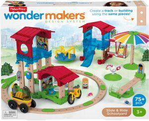 Fisher Price - Wunder Werker - Schule mit Spielplatz