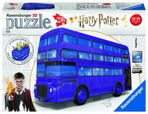 3D Puzzle - Knight Bus - Harry Potter - 216 Teile