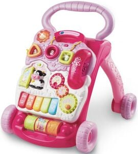 Baby Spiel- und Laufwagen, pink - VTech