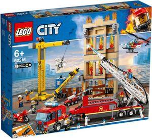 LEGO® City Feuerwehr 60216 - Feuerwehr in der Stadt
