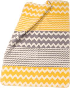 ALANA Baby Decke, in Bio-Baumwolle, grau, gelb