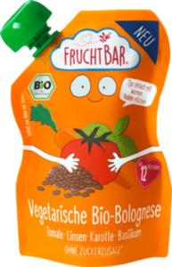 FruchtBar Vegetarische Bio-Bolognese Tomate-Linsen