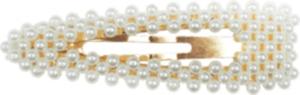 Cherry Picking Haarklammer V-Form weiße Perlen