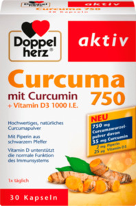 Doppelherz Curcuma 750 Kapseln 30 St.