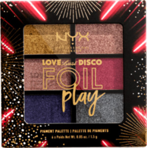 NYX PROFESSIONAL MAKEUP Lidschattenpalette Love Lust Disco Foil Play Do The Hustle 02