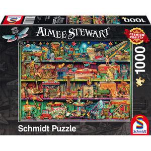 Schmidt Spiele Puzzle Spielzeug-Wunderwelt