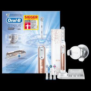 Oral-B Elektrische Zahnbürste Genius 9000S Rose Gold