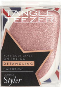 Tangle Teezer Entwirrbürste Compact Styler Rose Gold Glanz