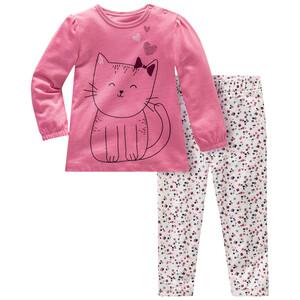 Baby Schlafanzug mit Katzen-Motiv