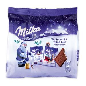 Milka Weihnachts-Täfelchen
