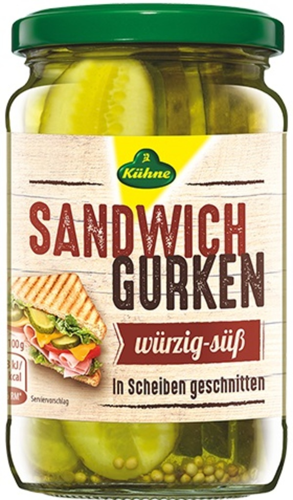 Sandwichgurken