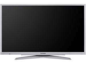 TELEFUNKEN 32 FS 2000,  LED TV, Silber