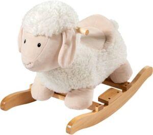 Schaukeltier Schaf weiß Exklusiv