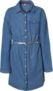 Kinder Jeanskleid blau Gr. 128/134 Mädchen Kinder