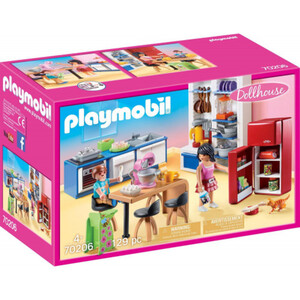 PLAYMOBIL 70206 Familienküche