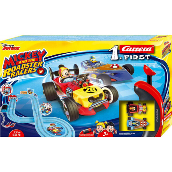 Carrera FIRST Mickey and Roadster Racers