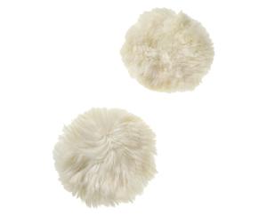tukan 2 Lammfell-Sitzkissen oder 1 Lammfell-Teppich