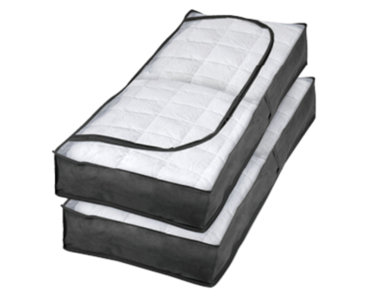 Bild 4 von EASY HOME®   2 Unterbettkommoden oder 2 Kleidersäcke