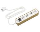 Bild 2 von EASY HOME®  Design Steckdosenleiste mit Schalter