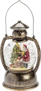 Konstsmide LED Kugellaterne Weihnachtsmann ,  20 x Ø 12 cm