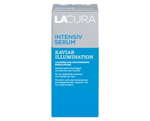 "LACURA Augenmousse oder Intensiv Serum ""KAVIAR ILLUMINATION"""