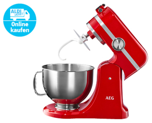 AEG UltraMix Küchenmaschine KM54WR¹