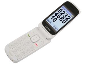 OLYMPIA Primus Mobiltelefon Weiß