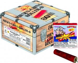 WECO Riesen-China-Böller D, 20 Päckchen á 4 Stück im Paket ,  China-Böller, Verkauf ab 28.12.