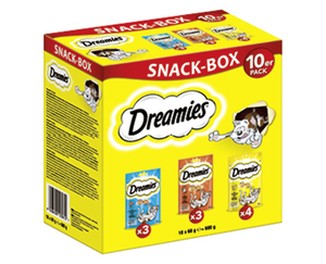 Dreamies™/Whiskas®/Frolic®/Pedigree®  Mega-Snack-Boxen