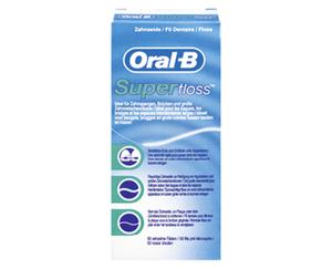 Oral-B®  Superfloss™ gewachste Zahnseide