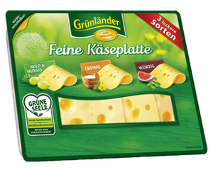 Grünländer®  Feine Käseplatte